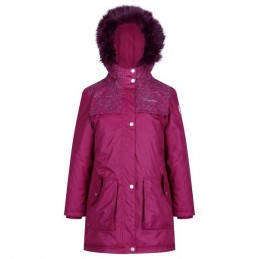 HALIMAH PARKA RUMBA RED...