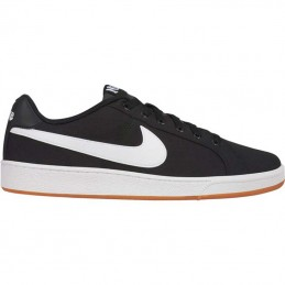 COURT ROYALE CANVAS BLACK/WHI